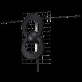 Antennas Direct ClearStream  2 Complete Long Range VHF UHF Digital TV (DTV) Antenna Combo Pack C2-V-CJM