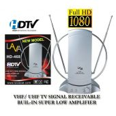 LAVA HD-468 Indoor HDTV Antenna with Stronger Digital Signal HD468