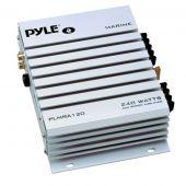 Pyle PLMRA120 2 Channel 240 Watt Waterproof Marine Amplifier