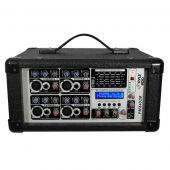 PylePro PMX402M 4 Channel 400 Watts Powered Mixer w/ MP3 USB Input