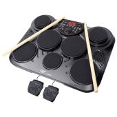 PylePro (PTED01) Electronic Table Digital Drum Kit Top w/ 7 Pad Digital Drum Kit