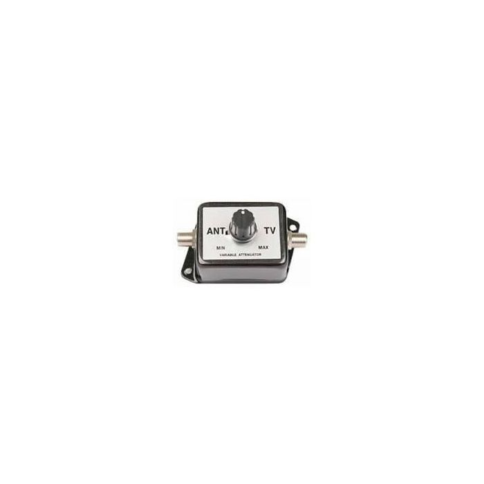 Antennas Direct 20dB Variable Attenuator for VHF UHF HD Off-Air Reception