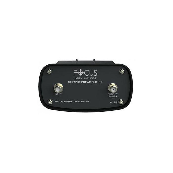 HAMZA FOCUS ANTENNAS TV ANTENNA PRE AMPLIFIER UHF/VHF/FM