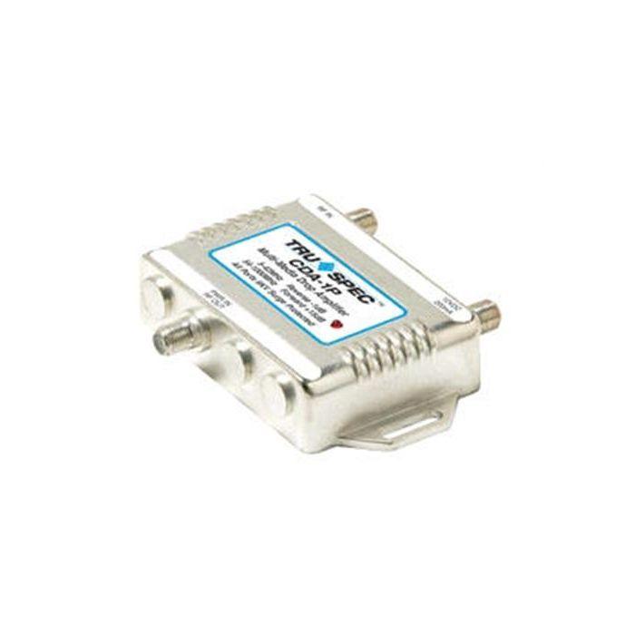 Pico Macom CDA-1P  Bi-Directional Distribution Amp Amplifier CDA1P with Passive Return Drop Amp for Antenna, CATV, Broadband