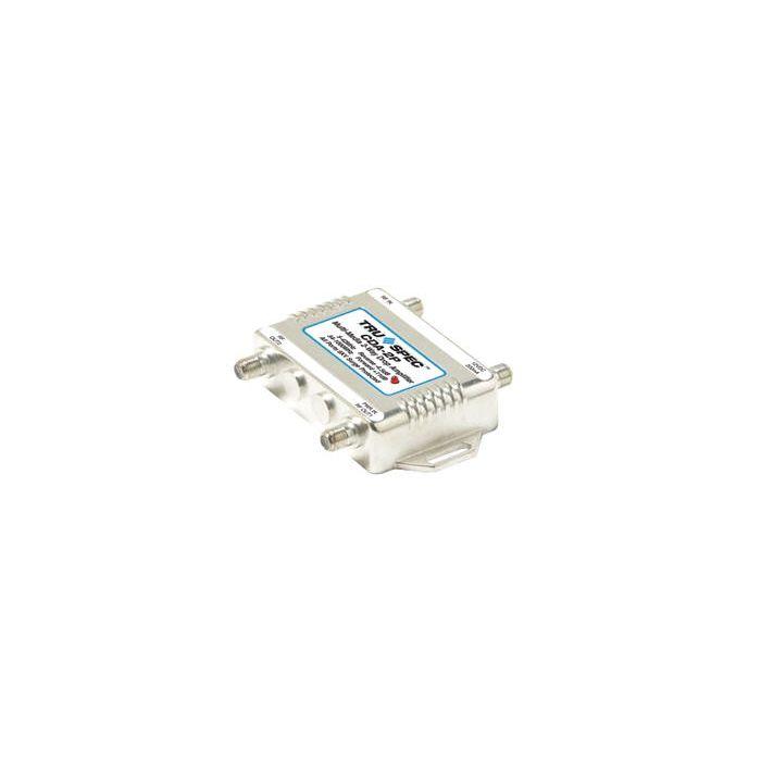 Pico Macom CDA-2P  Bi-Directional 2 Ports Distribution Amp Amplifier CDA2P with Passive Return Drop Amp for Antenna, CATV, Internet