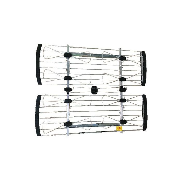 ClearConX Outdoor UHF 8-Bay Bow Tie Directional 128-km (80-mile) Antenna CC8BBT