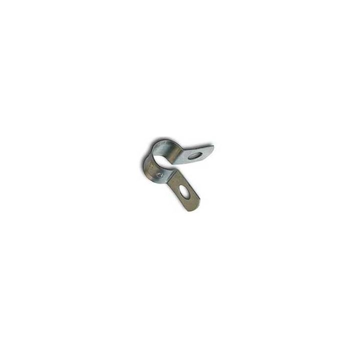 Aluminum coax cable clips for coaxial cable (Bag of 100)