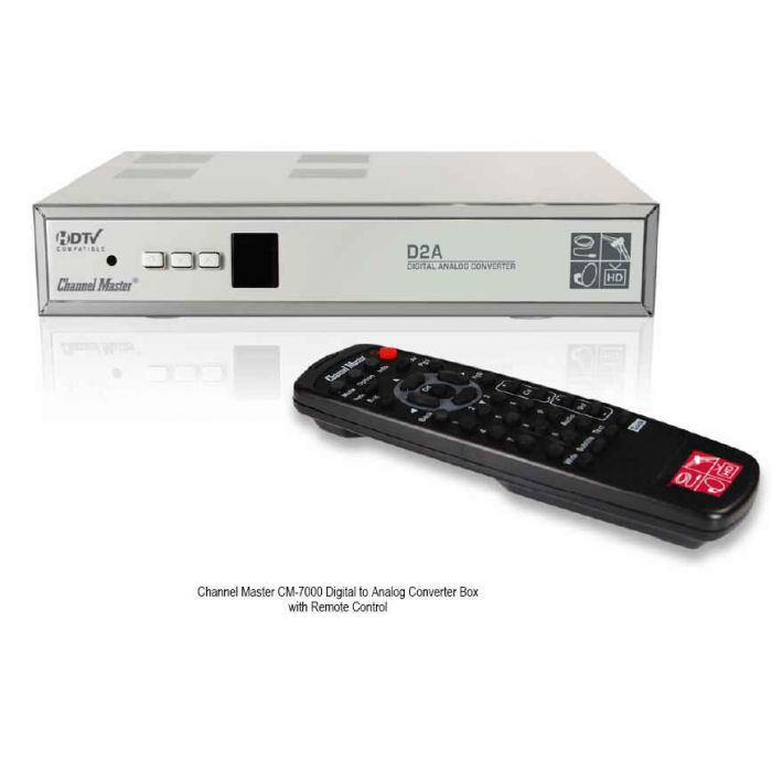 Channel Master CM 7000 ATSC Digital to Analog Converter Box (CM7000)