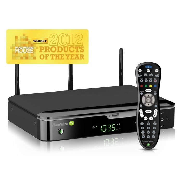 Channel Master TV CM 7400 HD DVR with no subscription fees CM7400