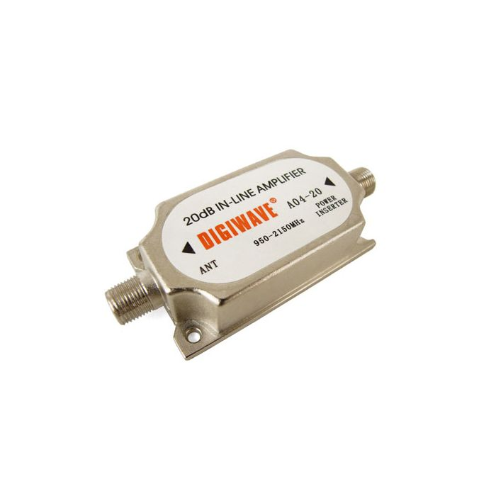 Digiwave DGS A0420 INLINE Amplifier for Cable TV Satellite Signal Booster DGSA0420