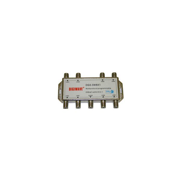 Digiwave 8X1 Diseqc Switch (DGS-SW8X1)