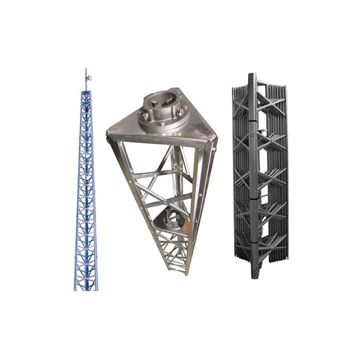 Wade DMX-68AN Standard Duty Tower with 244A Mast Clamps
