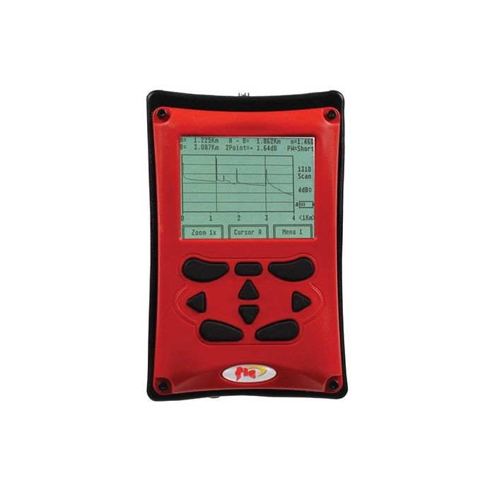 FIS Firecat Optical Time Domain Reflectometer (OTDR) Multimode 850/1300nm - Red