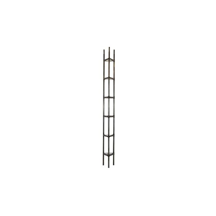 WADE GOLDEN NUGGET BRACKETED TUBULAR TOWER 18 GAUGE TOP AND STRAIGHT SECTION