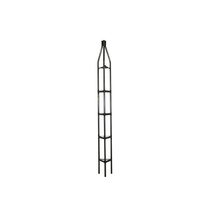 Wade Antenna 3-meter (10-ft) 16-gauge Golden Nugget Bracketed Tubular Tower Top Section GN16T