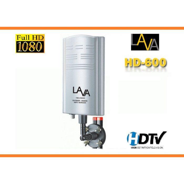 LAVA Amplified Indoor Outdoor HDTV Digital TV Antenna HD600