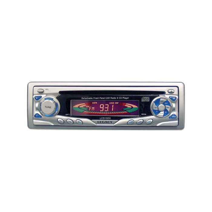 Legacy  LCD15DX AM/FM-MPX CD Player w/Detachable Face