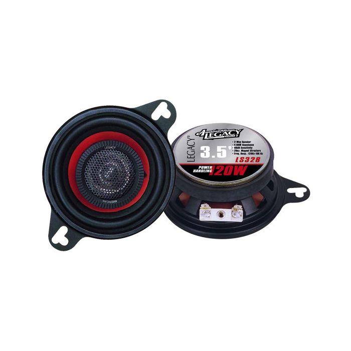 Legacy LS328 3.5'' 120 Watt Two-Way Speakers