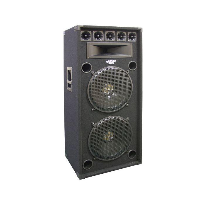 PylePro (PADH152) 1200 Watt Dual 15'' 8-Way Stage Speaker Cabinet