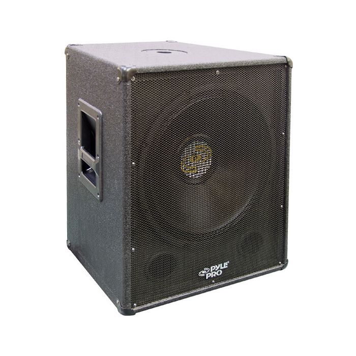 PylePro (PASW18) 1000 Watt 18'' Stage PA Subwoofer Cabinet