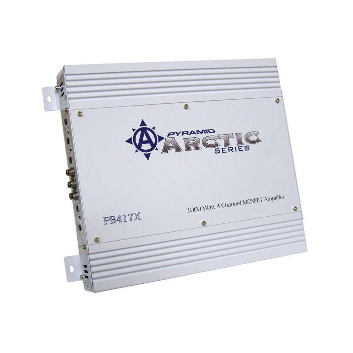 Pyramid PB417X 1000 Watt 4 Channel Bridgeable MOSFET Amplifier