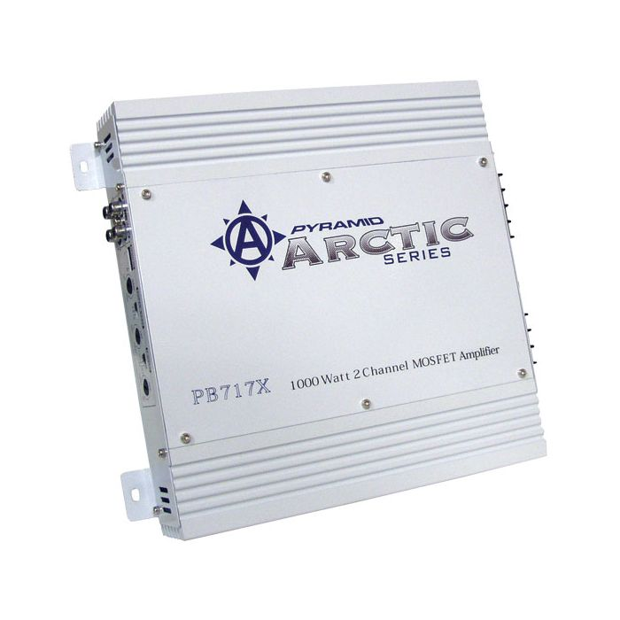 Pyramid PB717X 1000 Watt 2 Channel Bridgeable MOSFET Amplifier