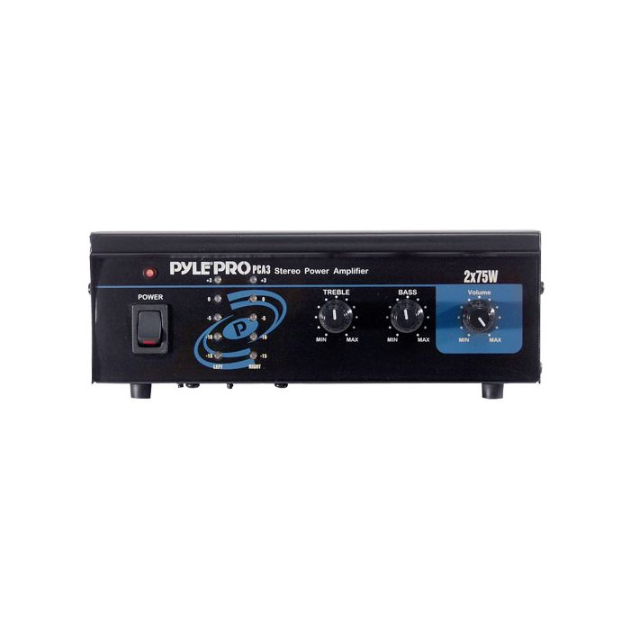 PyleHome  PCA3  Mini 2x75W Stereo Power Amplifier