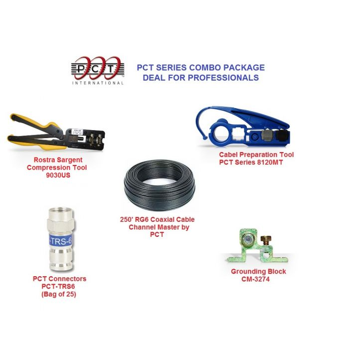 PCT Series Installation Tools Combo for Professionals