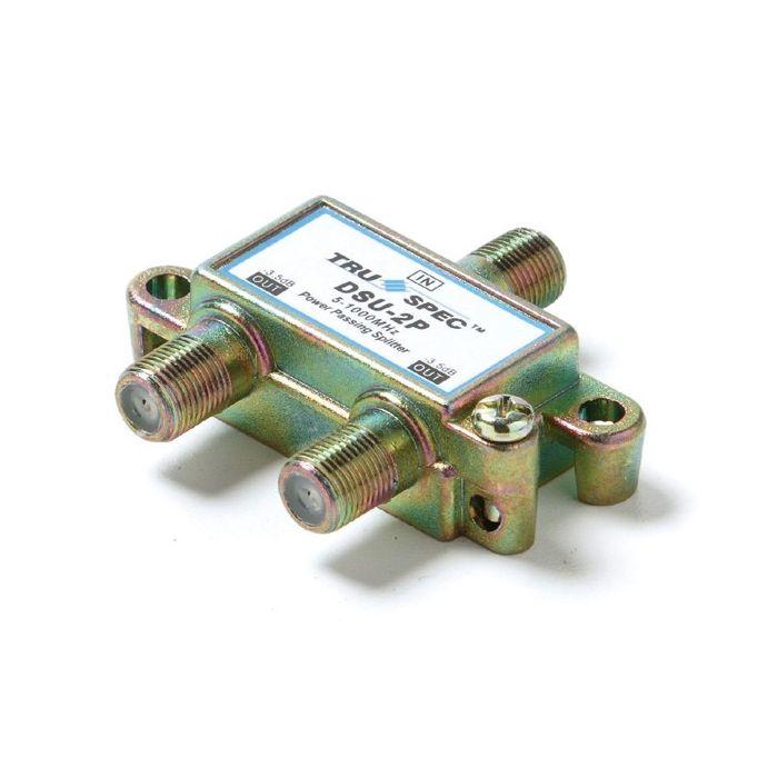 Pico Macom DSU-2P 1GHz 80dB EMI MATV 2 Port Power Passing Splitter DSU2P (Antenna Use)