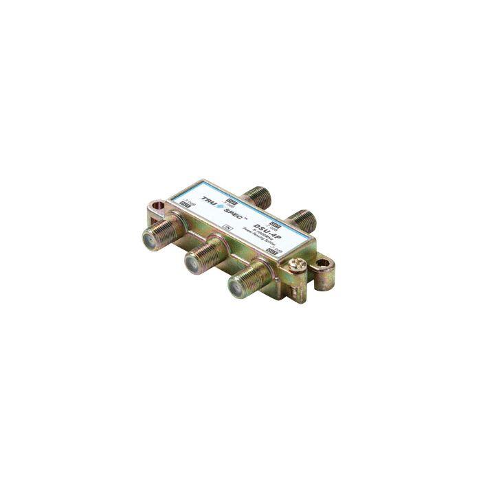 Pico Macom DSU-4P 1GHz 80dB EMI MATV 3 Port Power Passing Splitter DSU4P (Antenna Use)