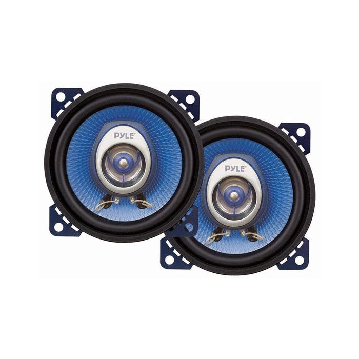 Pyle PL42BL 4'' 180 Watt Two-Way Speakers