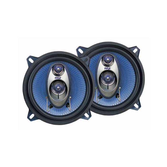 Pyle (PL53BL) 5.25'' 200 Watt Three-Way Speakers