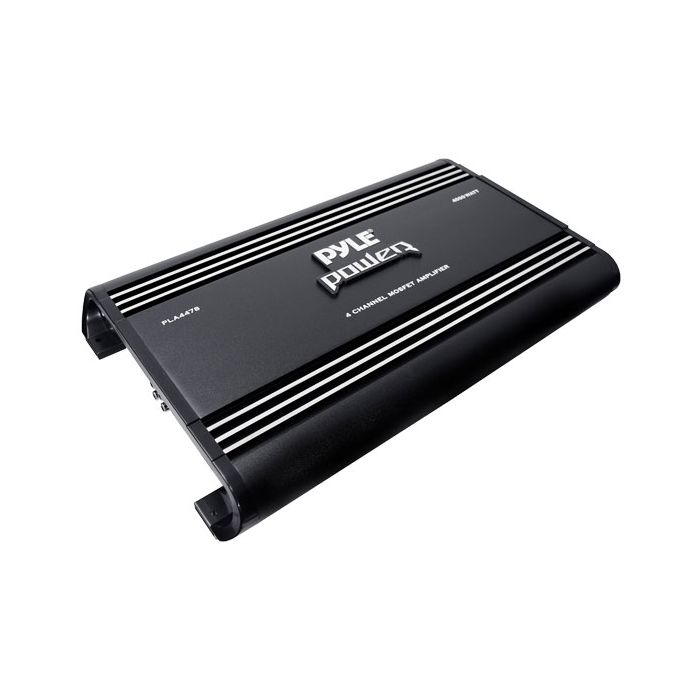 Pyle PLA4478 4 Ch 4000 Watts Bridgeable Mosfet Amplifier