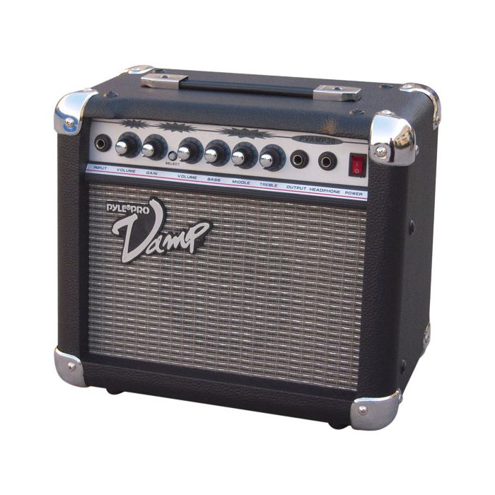 PylePro (PVAMP30) 30 Watt Vamp-Series Amplifier With 3-Band EQ and Overdrive