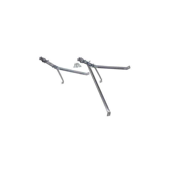 SURECONX 61-CM (24-IN) DELUXE STAND-OFF Y-STYLE ANTENNA WALL MOUNT BRACKET - PAIR