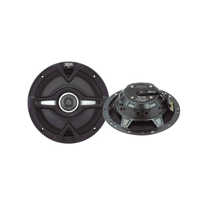 Lanzar (VC62) Vector 6.5'' 200 Watts 2-Way Slim Speakers
