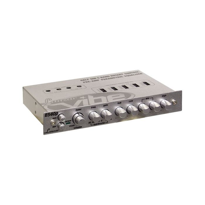Lanzar (VIBE540P) Vibe Half DIN In-Dash 5 Band Parametric Equalizer