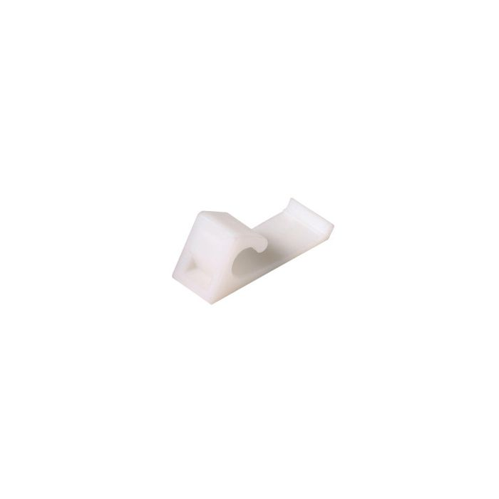 Perfect Vision PVHSCV Horizontal Aluminum or Vinyl Siding Cable Clip - (Bag of 100)