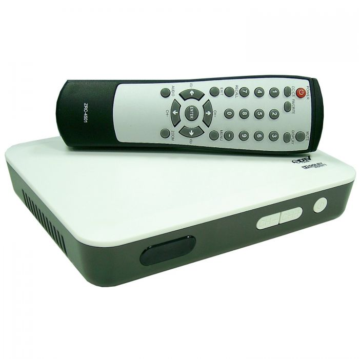 New Model Zinwell ZAT 970A Digital to Analog TV Converter Box (for Antenna Use) ZAT-970a